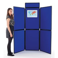 Plastic Frame Folding Display 10 Panel
