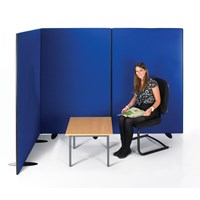 Black Frame Divider Office Screen
