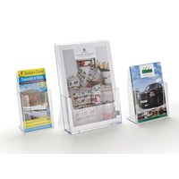 Perspex Leaflet Wall Holder
