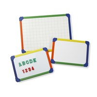 Plastic Framed Whiteboard Non Magnetic