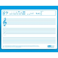 A4 Flexible Double Sided Lapboards Music