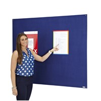 Unframed Antibac Noticeboard