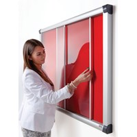 Acrylic Sliding Showcase