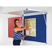 Corridor Blazemaster Lockable Noticeboard