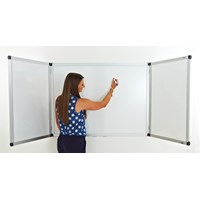 Confidential Winged 2dr Magnetic Whiteboard