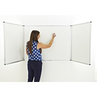Confidential Winged 2dr Non Magnetic Whiteboard